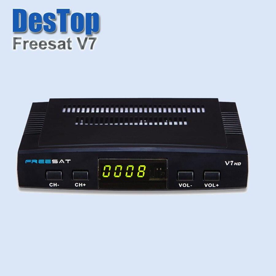 Prix pour 3 pcs/lot dhl livraison FREESAT V7 HD (DVB-S2) 1080 P FULL HD DVB-S2 avec DHL gratuite