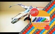 05039 1586 pcs Véritable Star Série Le X-aile Rouge Cinq Starfighter Wars Set Blocs de Construction Briques Jouets 10240 cadeau jouets lepin