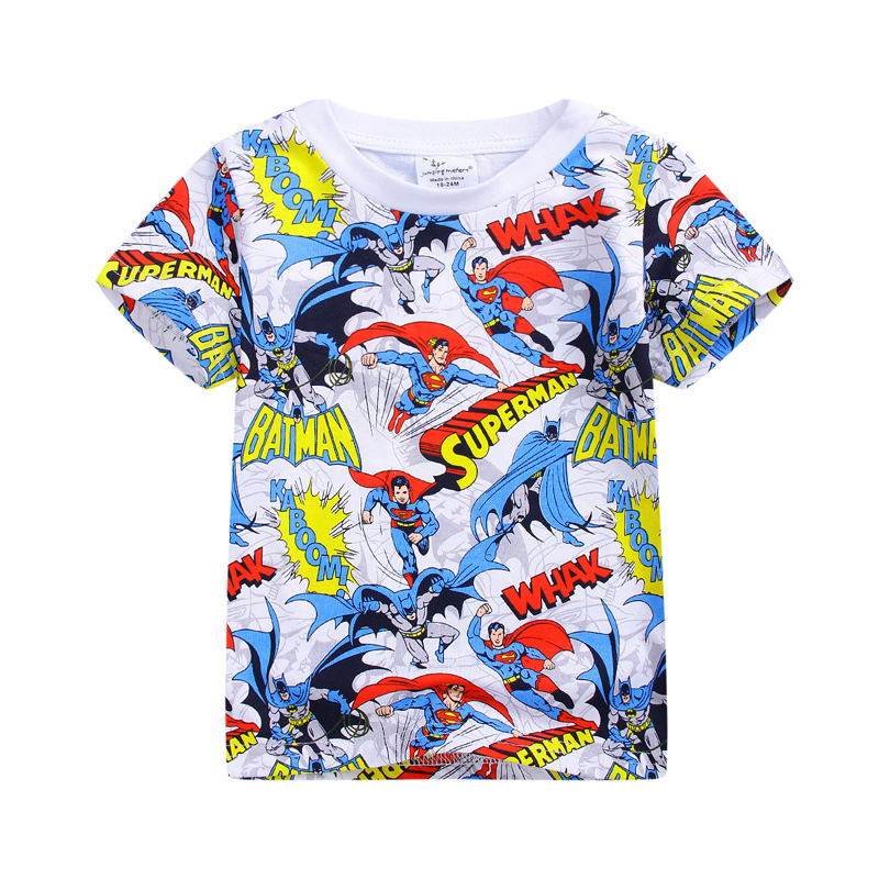 2017 boys clothing fashion batman boys clothes kids t