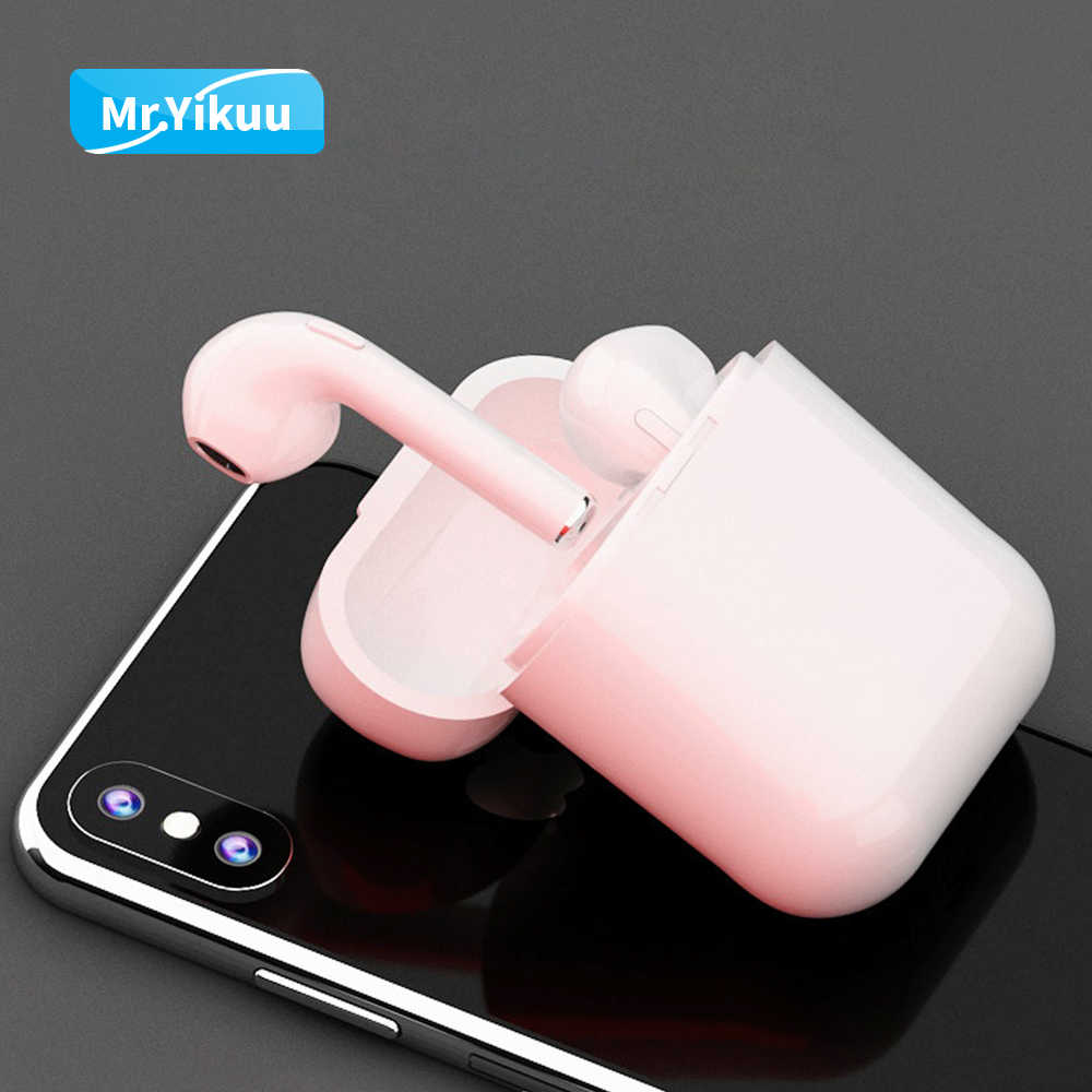e1291bc620f ... i9s Bluetooth Headset Wireless Headphones Auto pair Stereo TWS Earphones  with Charging box For Apple iPhone