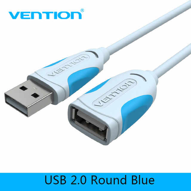 Vention USB 2.0 Extension Cable Male to Female Super Speed USB Data Cable Extender For PC Keyboard Printer Mouse Computer Cable