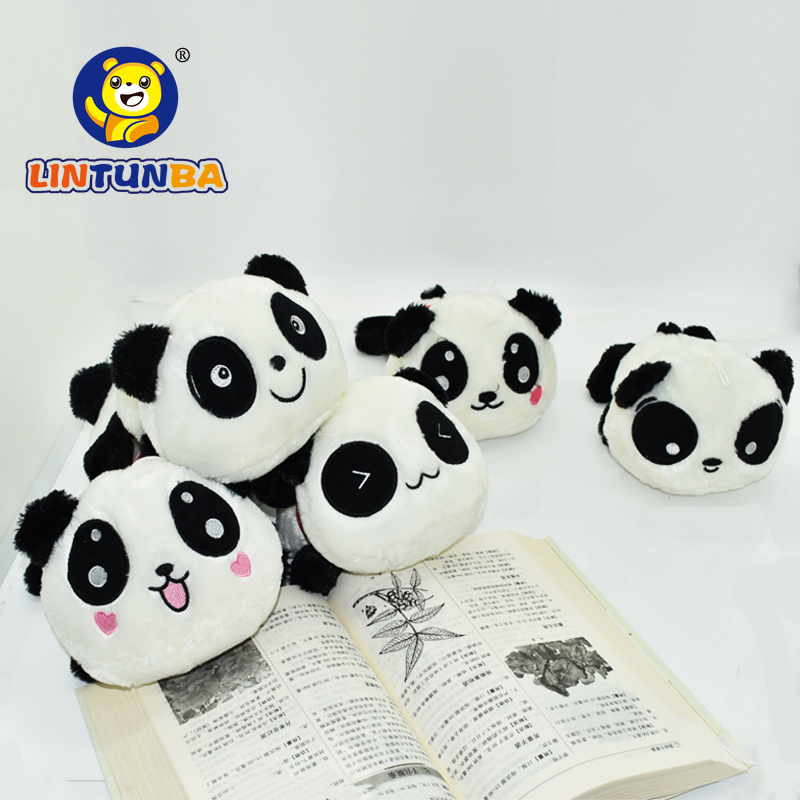 1pcs 15CM 2015 New Cartoon Batman panda doll kawaii plush toys minion exported to Europe kids toys Anime Plush animal image