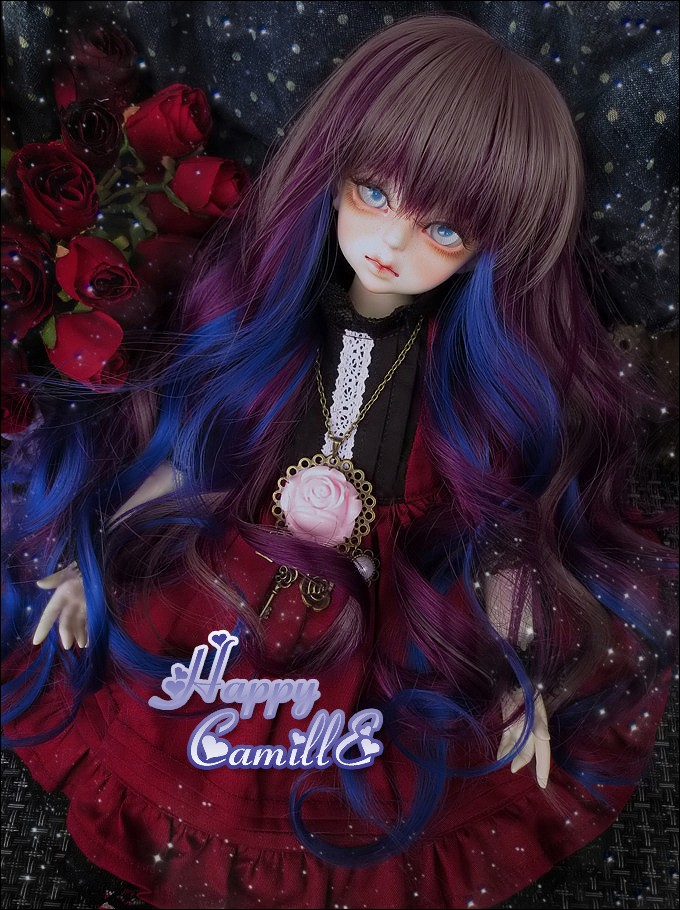 1/4 1/3 scale BJD  doll wig long hair for DIY BJD/SD accessory.Not included doll,clothes,shoes,and other accessories 17C3243