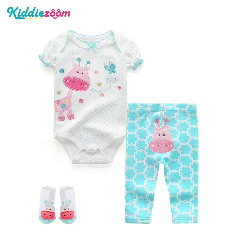 Newborn Baby GirlsClothing Sets Roupas bebes meninos Kids Clothes Vetement Enfant Fille Baby Boys 2018 Summer Clothes Unisex