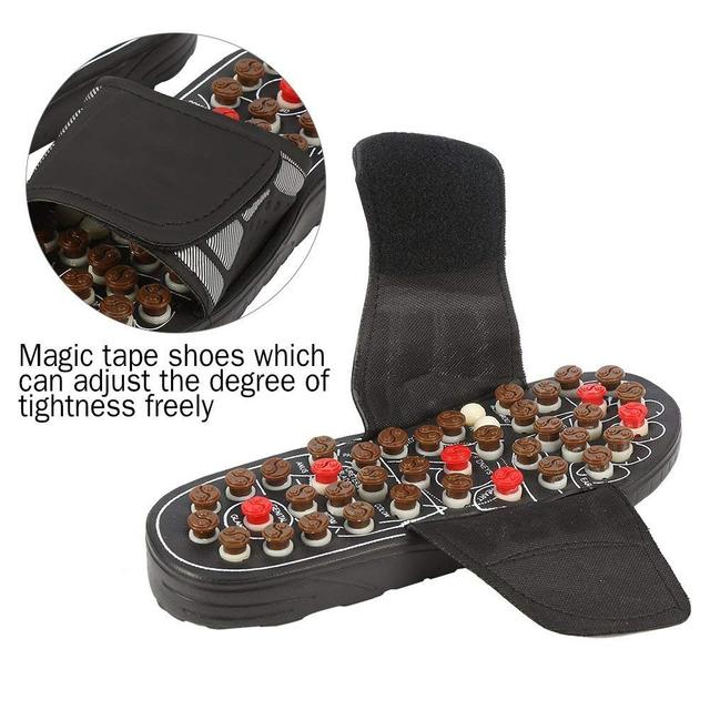 Pressure-Relief Foot Massage Acupuncture Slippers