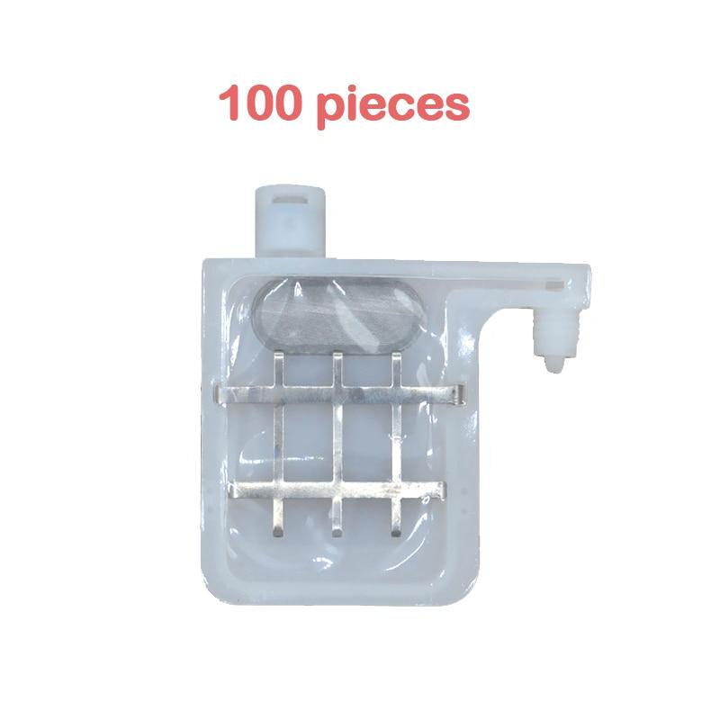 100x dx4 dx5 imprimante tête d'impression grand filtre amortisseur d'encre 2-3mm Double rangée pour roland mutoh Mimaki imprimantes DX4 DX5 tête d'impression amortisseur