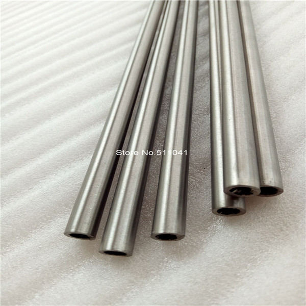 6pcs Gr9 titanium tube OD 12mm*ID 10mm *Length 1000,free shipping 1pc new 304 stainless steel capillary tube 12mm od 10mm id 250mm length silver for industry tool