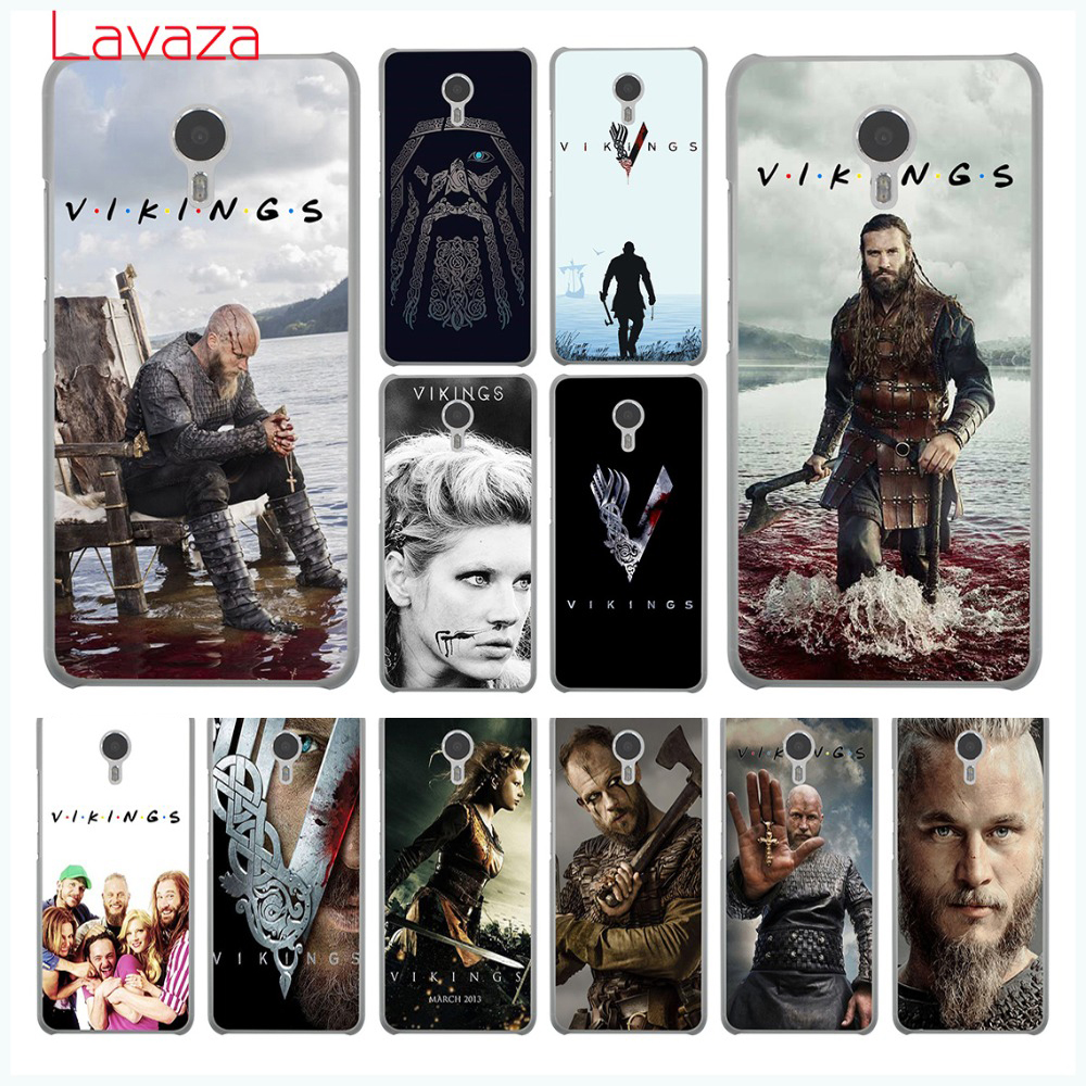Lavaza vikings serie 4 fashion Hard Phone Case for Meizu M6 M5 M5C M5S M3 M3S M2 Note Mi ...