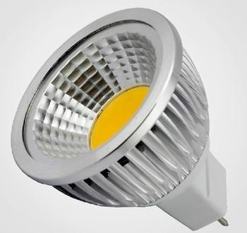 цена на E27 GU10 GU5.3 E14 MR1610PCS/LOT Free shipping 85-265V 3W/7W/9W  COB LED lamp light led Spotlight White/Warm white led lighting