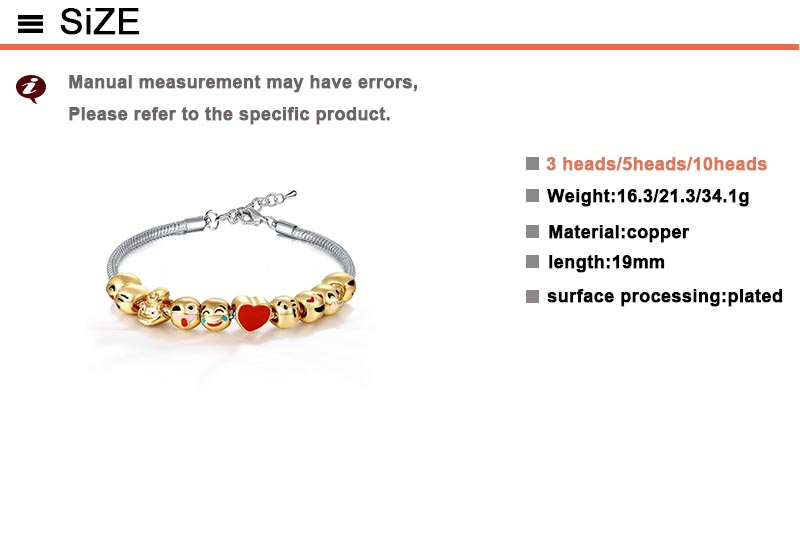 1 piece copper alloy gold color animal bracelets lobster snake chain bangles for women and men style can choose