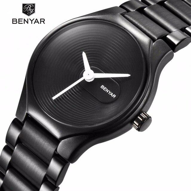 2019 BENYAR Luxury Brand Fashion Casual Watch Men Simple Sport Quartz Couple Lov