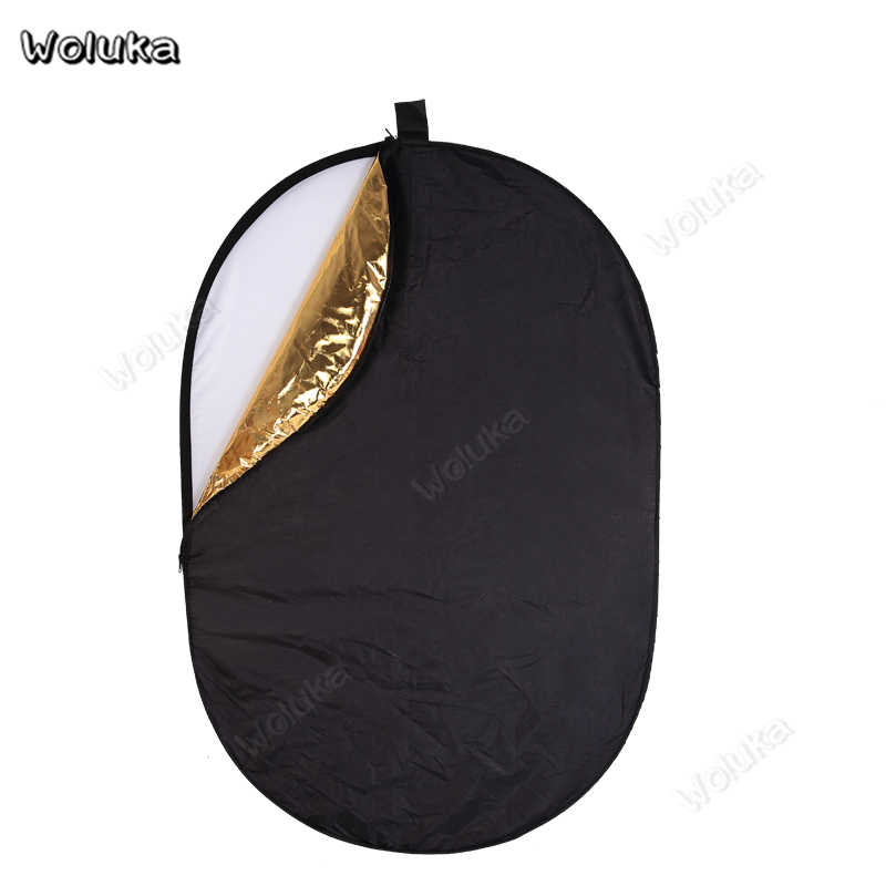 Color : As Shown, Size : 80x120cm MAODATOU Photographic Reflector Oval Reflector 80120cm Portable Universal Photographic Folding Photography Light Board Equipment 5-in-1 Photography Reflect Plate
