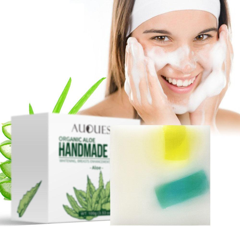 Aloe Cleaner Soap Oil-Control Treatment Blackhead Remover Casual, Party, Dating 100g Facial Skin Care China