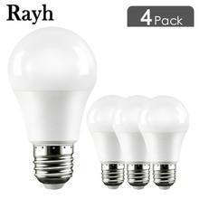 4pcs E27 LED White light bulb High Brightness Smart IC Real Power 5W 7W 9W 12W 15W 18W 110V-265V Home backup lighting lamp