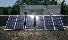 Solar Panel 12v 100w 6 Pcs Chargeur Solaire Battery Panneaux 600 watt Home System Motorhome Caravan Boat