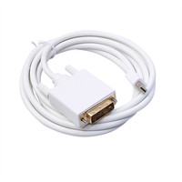 6FT Display Port DP Male To DVI Male Cable Cord Adapter Gold Plated 1080P HD