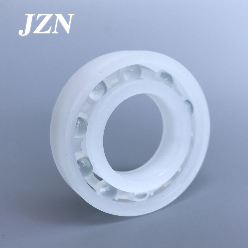 Free Shipping 6200 6201 6202 6203 6204 6205 6206 6207 6208 PP Plastic Bearing Corrosion Resistant, No Rust, Non-magnetic