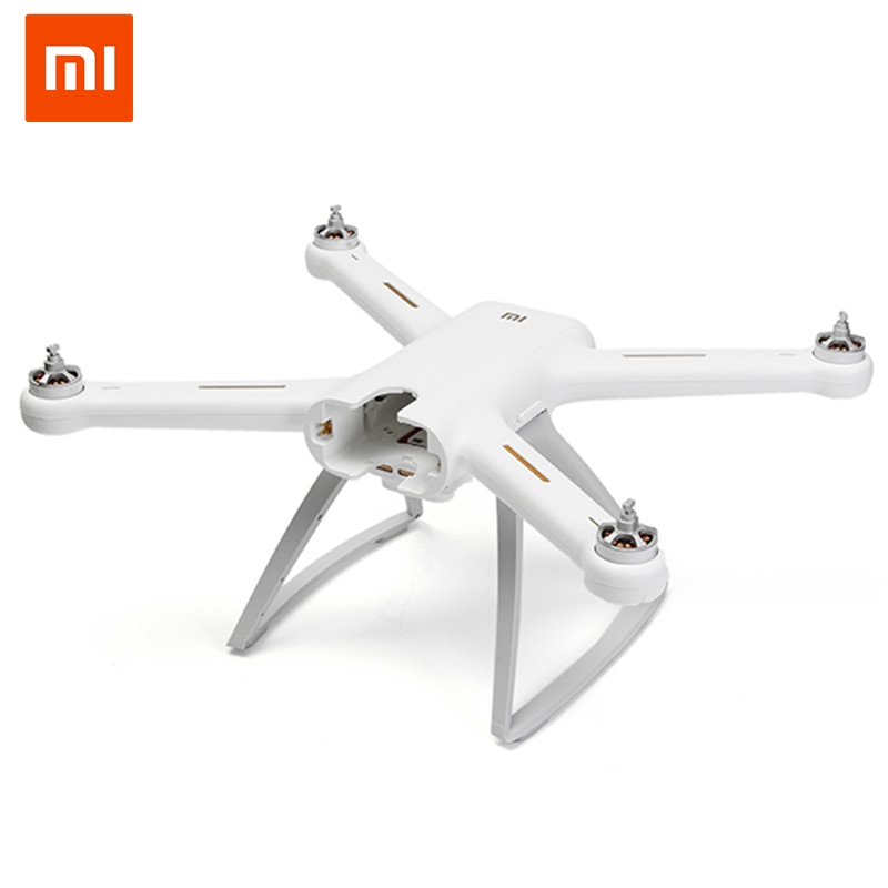 Genuine Original Xiaomi Mi Drone 4K Version HD Camera APP RC FPV Quadcopter Camera Drone Spare Parts Main Body Accessories Accs original xiaomi mi drone midrone 4k version hd camera gimbal rc quadcopter spare parts upper body shell cover