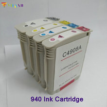 4pc 940 Ink Cartridge For HP 940 Officejet Pro 8500 8500a 8000 A809a A811a A809n A910 A909b A910a A909a A909n A910g A910n low price [hisaint] 8pcs ink cartridge for hp 940 940xl for officejet pro 8000 a809a a811a a909g a910g a910n free shipping sale