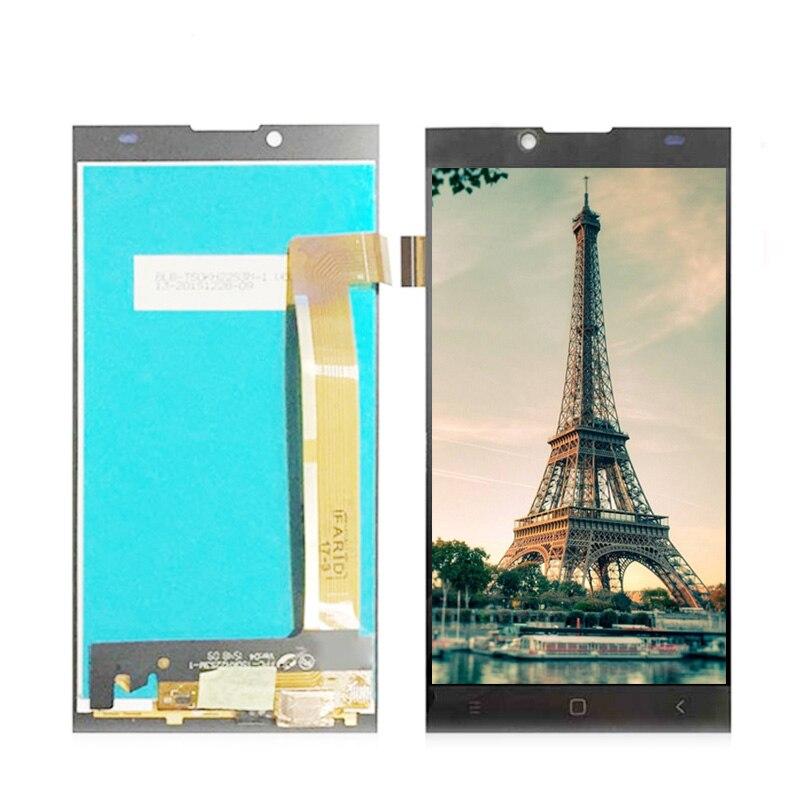 Écran lcd + Écran Tactile LCD de Remplacement Écran Pour Prestigio Grâce Q5 PSP5506 Duo PSP5506Duo PSP 5506