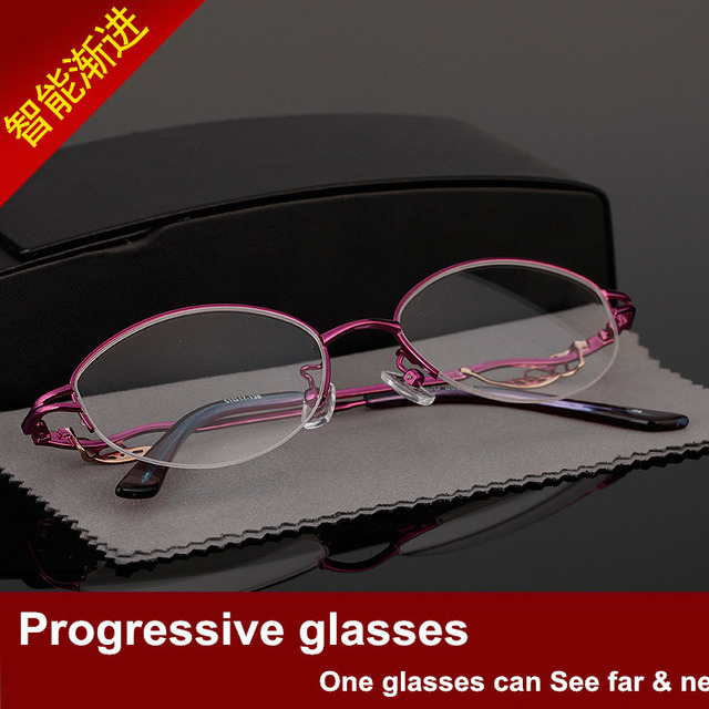 Gradual More Focus Dual Purpose Glasses Both Light Discoloration Woman Fund Intelligence See Far Near A Pair Glasses 05005