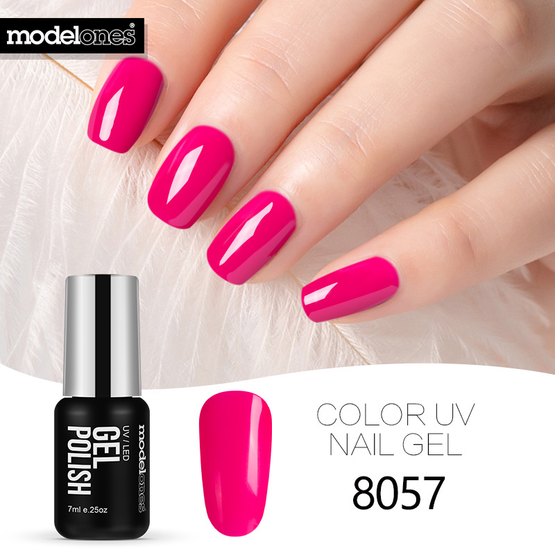 Gel Nail Polish Sale: Modelones Hot Sale Soak Off UV Gel Nail Polish Pink Color