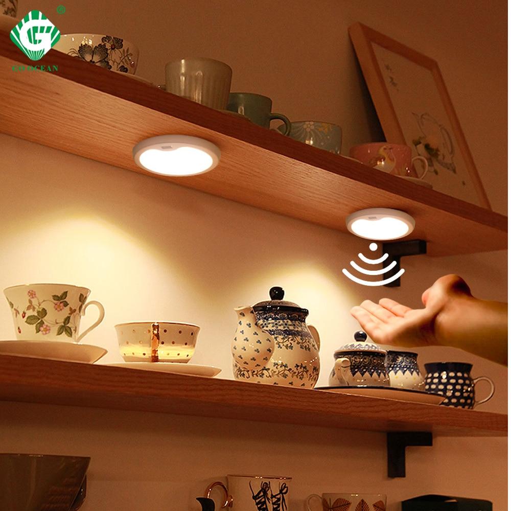 Motion Sensor 12v Led Light Puck Lamp