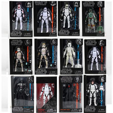 12 Jenis Star Wars Black Series Boba Kylo Phasma Darth Maul Darth Vader Hab Solo Action Figure Mainan(China)