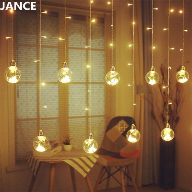 led glas hang lamp volledige star kamer layout slaapkamer