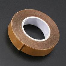 1cm X 3 yard Double Sided Toupee Adhesive Tape Waterproof Traceless Super Glue Tapes For Skin Weft Wig Human Hair Extension(China)