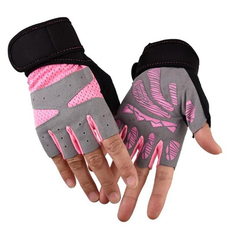 2019 Men/women Fitness Gloves Gym Weightlifting Yoga Bodybuilding Instrument Training New Breathable Wrist Strap Non-slip Gloves