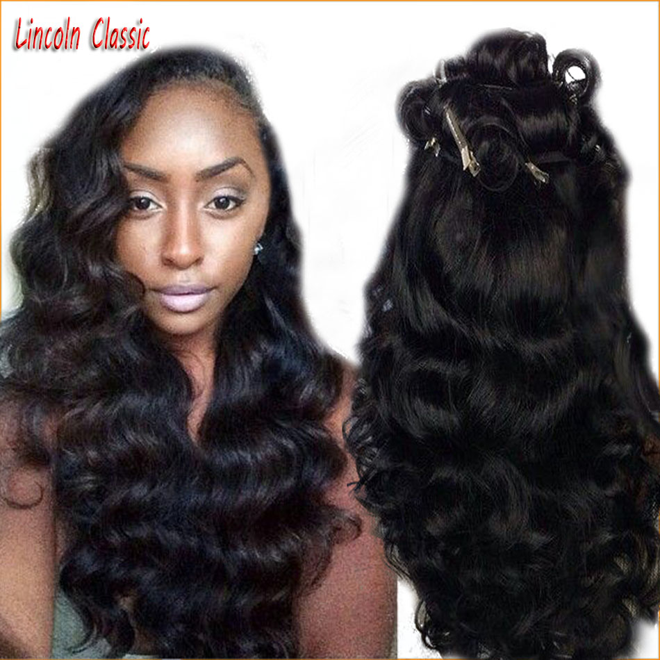 Natural Virgin Brazilian Deep Wave Full Lace Wig With Side Part Baby font b Hair b