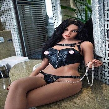 168cm   Plus  #Hellen   TPE with Metal skeleton sex dolls real masturbator vajina love dolls male sex dolls for women