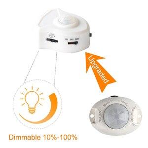 Image 2 - Firecore DC12V Led Strip Motion Sensor Light Auto On/Off Flexibele Led Light 1M 2M 4M voor Bed Licht Met Voeding