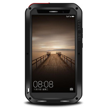 LOVE MEI Life водонепроницаемый металлический чехол для телефона для HUAWEI mate 8 9 mate Magic 9 Pro P7 P9 Plus Phone 3 Proof Cover