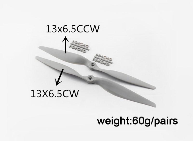 APC 13 * 6.5 Hélice APC 13 * 6.5 Hélice inversa APC 13 * 6.5 CW - Juguetes con control remoto