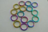1 Strand 26mm Hematite Round Circle Ring Shape Beads Rainbow Plated Hematite Round Donut Beads Fashion