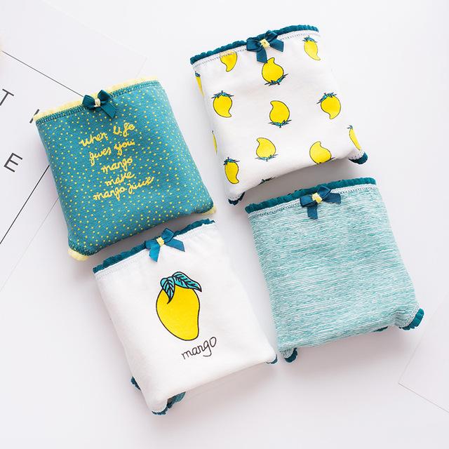 Women's Mango Print Cotton Briefs