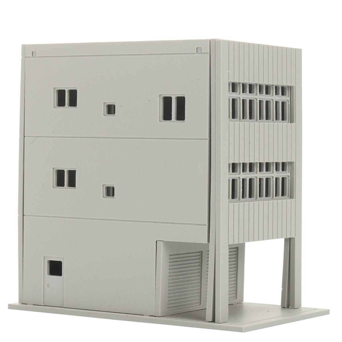 KiWarm DIY 1:150 Three Floors Outland Building Model N Scale Gauge ...