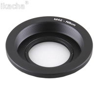 10Pcs Wholesale Lens Adapter M42 Lens For Nikon AI Mount Adapter Converter Optic Focus Infinity With