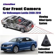 Liandlee Front View Camera Car Screen Monitor 4.3 Logo Embedded For Volkswagen VW Lavida 2008-2018 15 Cigarette Lighter Switch