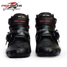 Для мужчин профессии, в байкерском стиле; ботильоны; обувь в мотокроссе сапоги из микрофибры кожа внедорожных моторных лодок; обувь в байкерском стиле