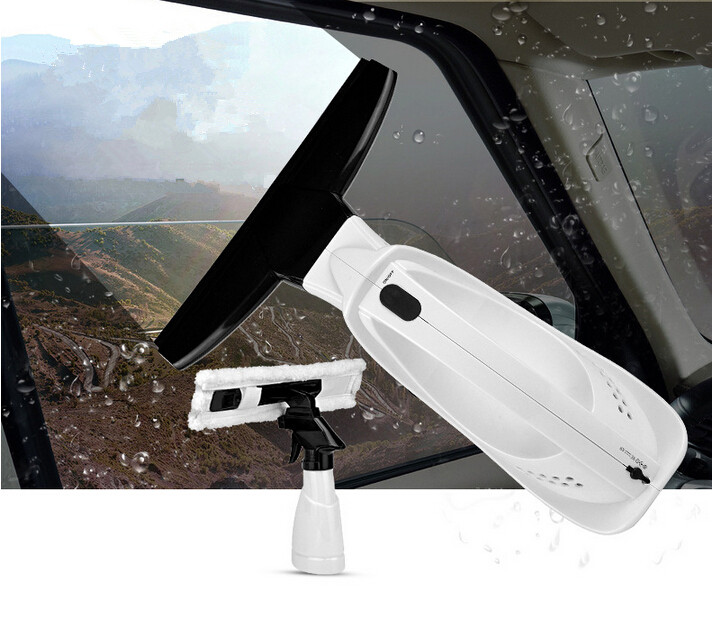 2016 New Arrival Rechargeable Electric Car Window Squeegee Automatic Window Cleaning Wiper Car Handheld Glass Window Cleaner