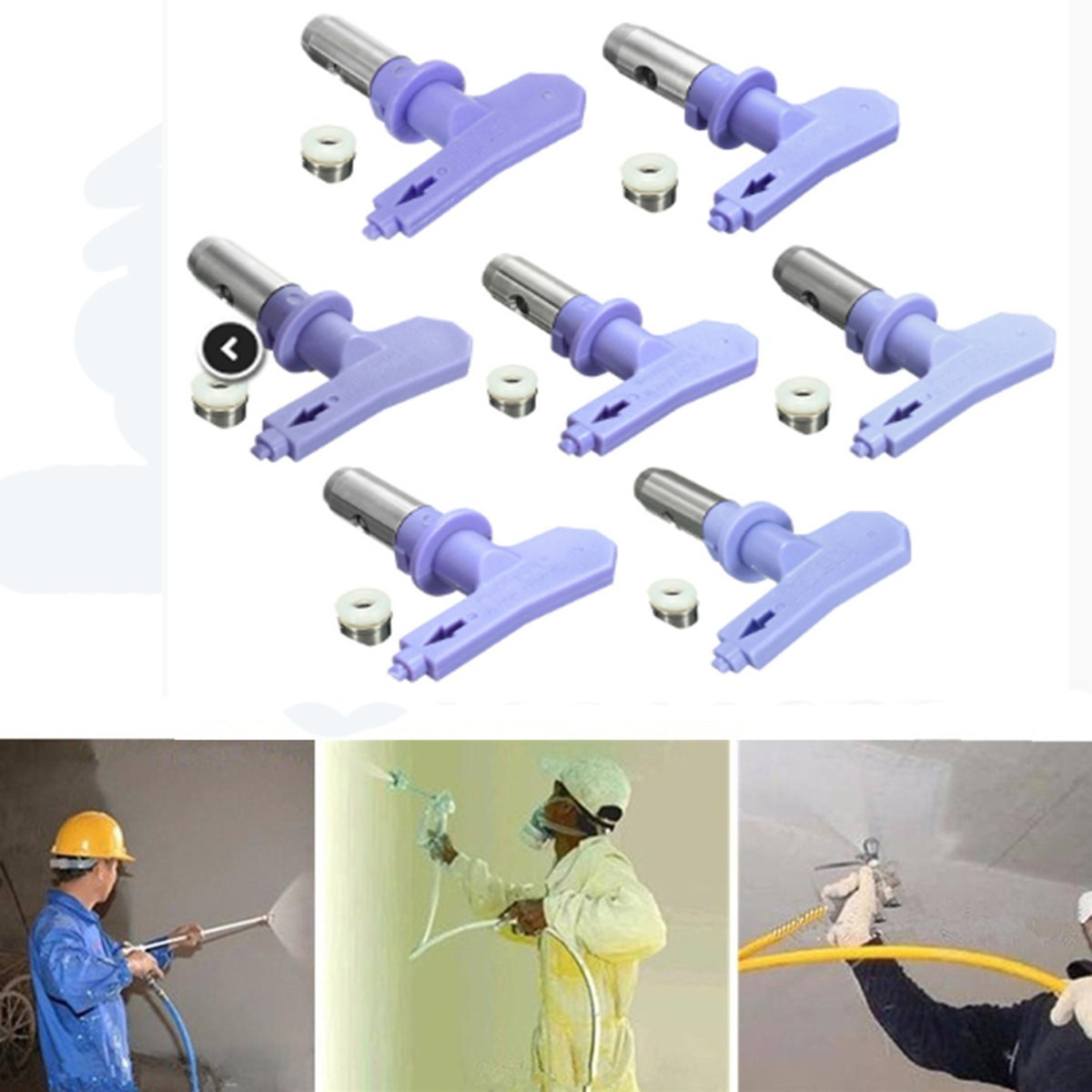 3 Series New Airless Spray Tips Nozzle For Paint Sprayer For Airless Spray Gun And Paint Sprayer