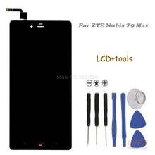 New For ZTE Nubia Z9 Max NX510J NX512J LCD Display Touch Panel Screen Glass Assembly Replacement Free shipping