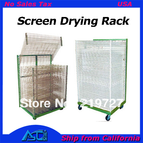 free shipping to canada usa screen drying rack silk screen printing drying stand 50 layers