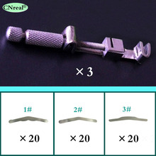 3 pcs/lot Dental Matrix Tofflemire Retainer Universal Type Bands Dentist Lab Device Instrument