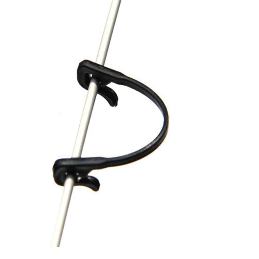 LanLan 100 шт. крепление для виноградной лозы, привязанный крюк с пряжкой, растительные прививки, зажимы сельскохозяйственная теплица