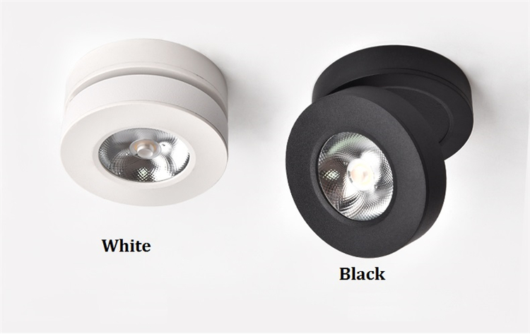 ultra thin led downlight, surface mount led lights