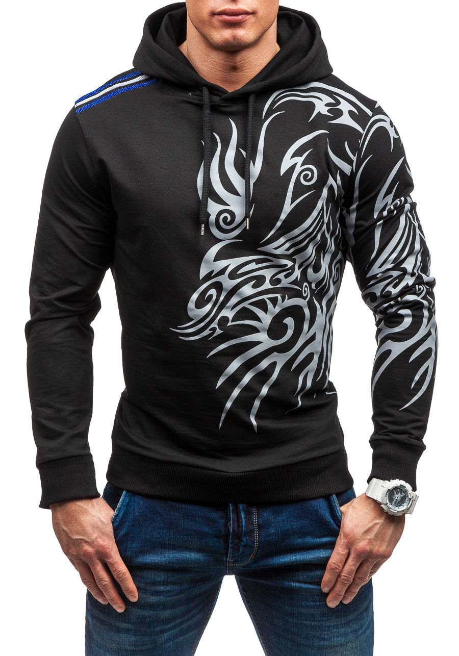 2017 Zipper Cardigan Baseball Collar Print Men Brand Fashion Tracksuit Mens Sweatshirt Off White Hoodie Mens Purpose Tour Men's Clothing